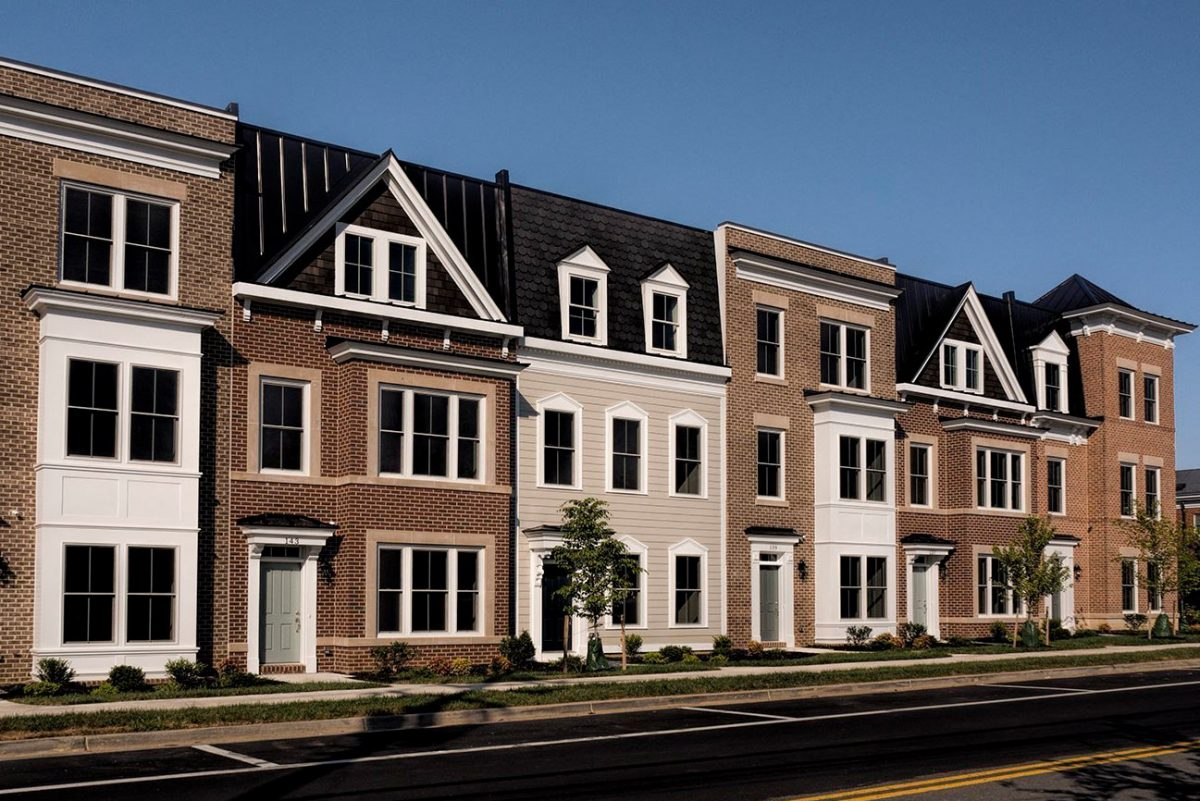 Photo of Cadence on Center townhomes