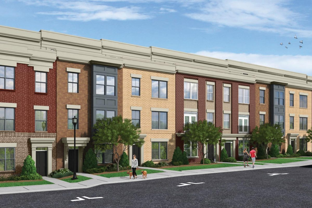 Illustration of Marche at Mosaic townhomes